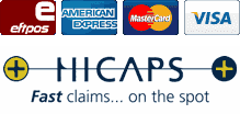 payment methods hicaps fast claims on the spot